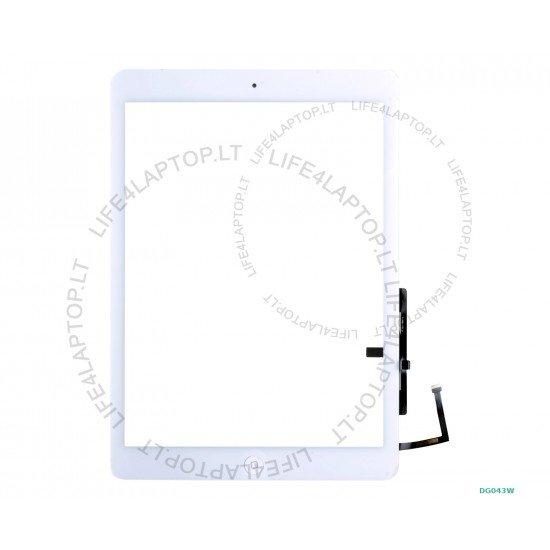 Apple iPad Air A1474 A1475 A1476 lietimui jautrus stikliukas baltas