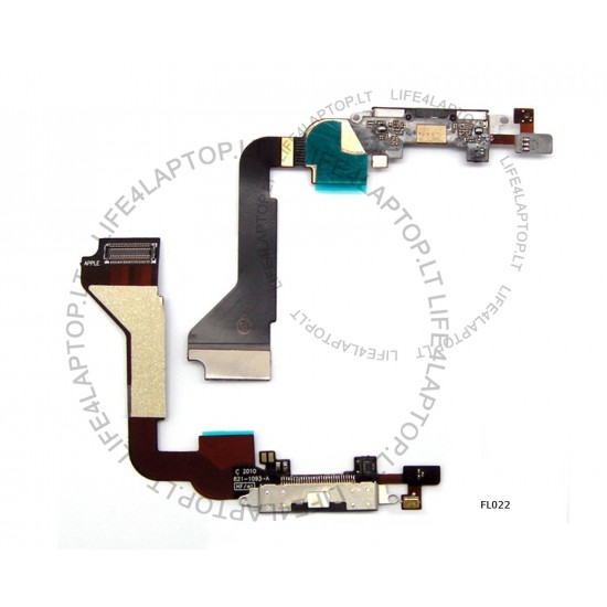 Apple iPhone 4G GSM Telefono įkrovimo lanksčioji flex jungtis