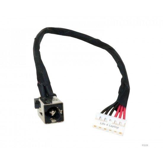 DC Įkrovimo maitinimo lizdas (jungtis) su kabeliu