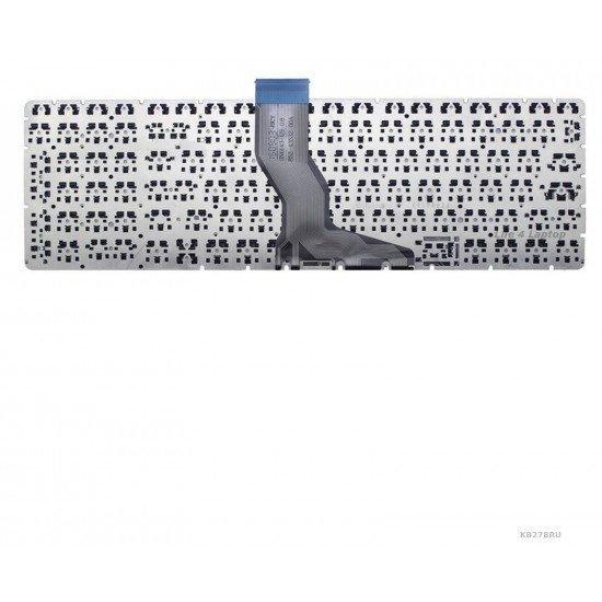 HP Pavilion 15-aw100 Klaviatūra RU Juoda