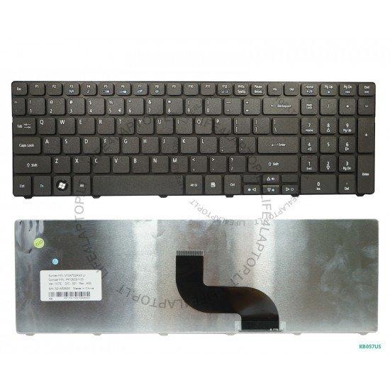 Acer Apire 5349ZG Keyboard US Black