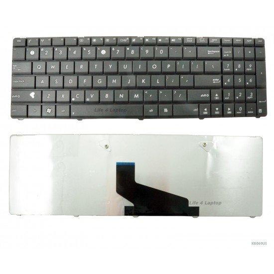 Asus K73TA Keyboard US Black