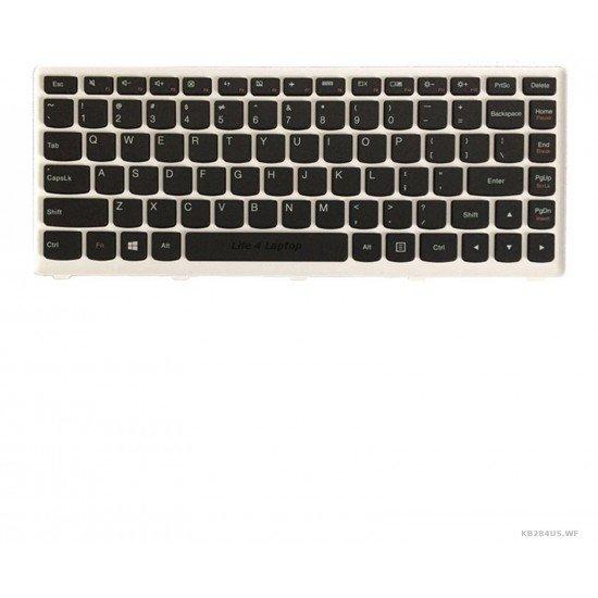 Lenovo S40-70 Klaviatūra US Juoda