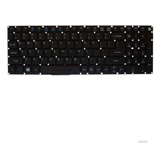Acer TravelMate P259-M Klaviatūra US Juoda