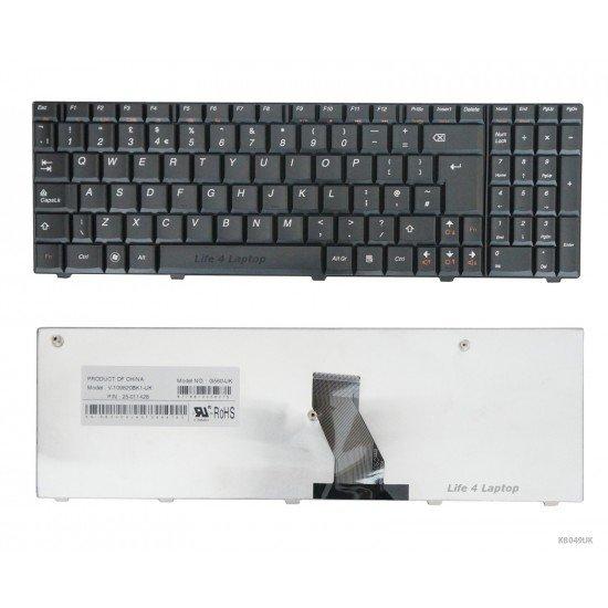 Lenovo G570 Klaviatūra UK Juoda