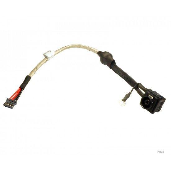 Sony VAIO VPCF12LFX DC Įkrovimo maitinimo lizdas (jungtis) su kabeliu