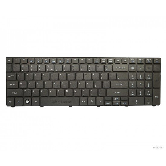 Acer Aspire 7540G Klaviatūra US Juoda