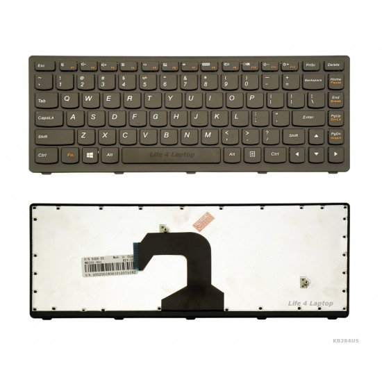 Lenovo S40-70 Keyboard US Black