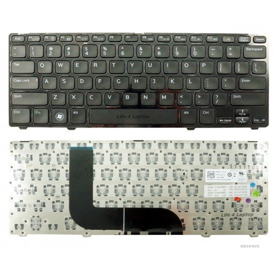Dell Inspiron 13z 5323 Klaviatūra US Juoda
