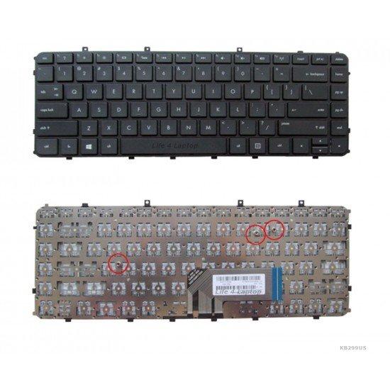 HP ENVY Ultrabook 6-1000 Klaviatūra US Juoda