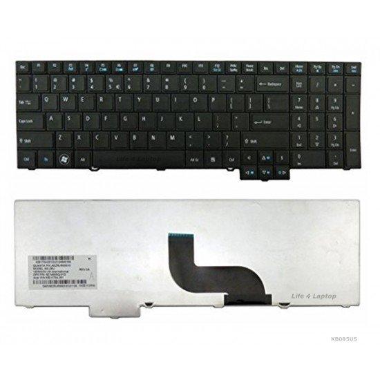 Acer TravelMate 8573 Klaviatūra US Juoda