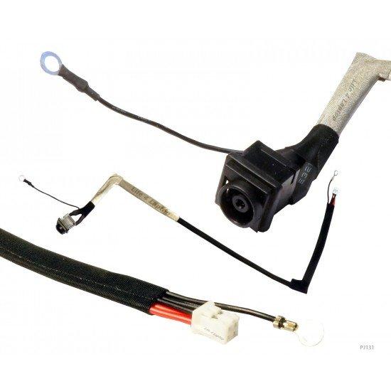 Sony VAIO VGN-CS215J DC Įkrovimo maitinimo lizdas (jungtis) su kabeliu
