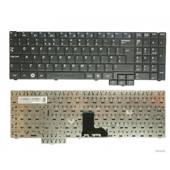 Samsung NP-R538 Keyboard UK Black