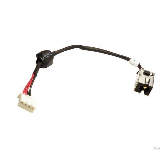 Asus X53 DC Įkrovimo maitinimo lizdas (jungtis) su kabeliu