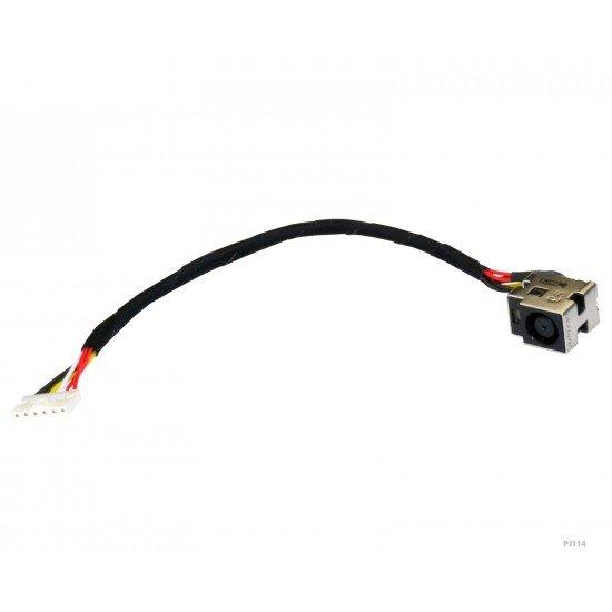 HP Pavilion dv5-1100 DC Įkrovimo maitinimo lizdas (jungtis) su kabeliu