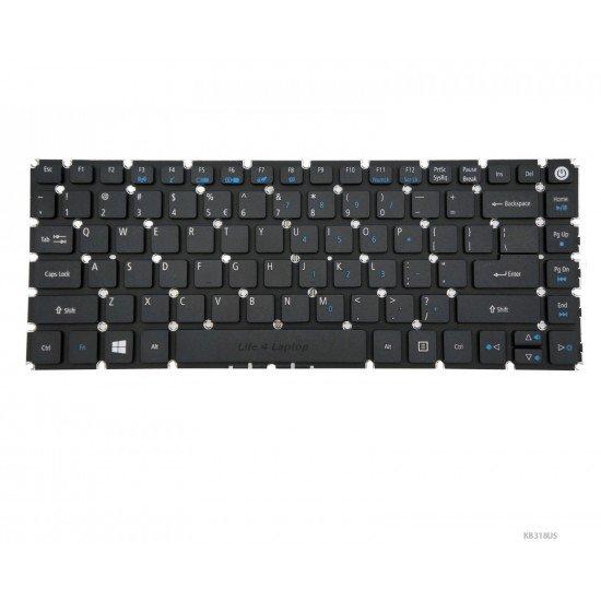 Acer Aspire E5-474G Klaviatūra US Juoda