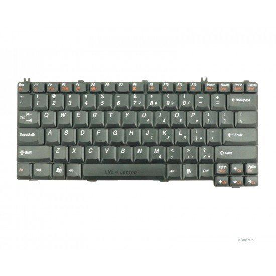 Lenovo Y730 Klaviatūra US Juoda