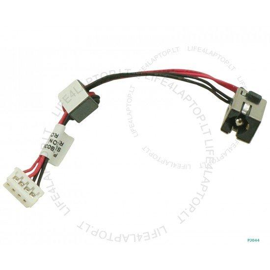 Toshiba Satellite L850D DC Įkrovimo maitinimo lizdas (jungtis) su kabeliu