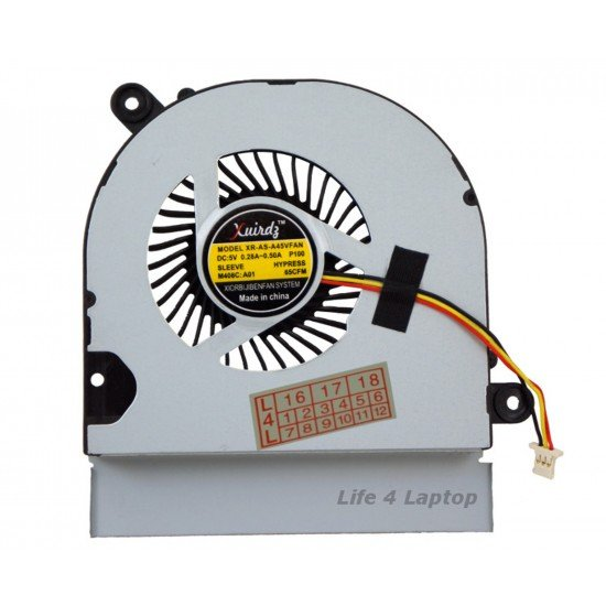 Asus A85VS Aušintuvas 3 pin