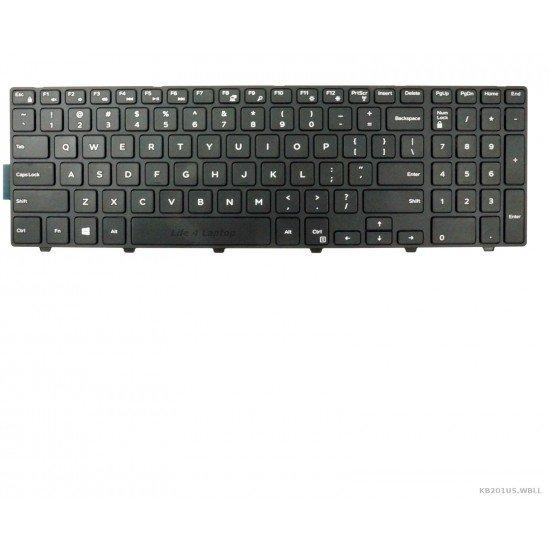 Dell Inspiron 3543 Klaviatūra US Juoda