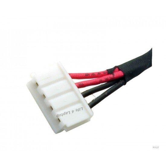 Asus X55A DC Įkrovimo maitinimo lizdas (jungtis) su kabeliu